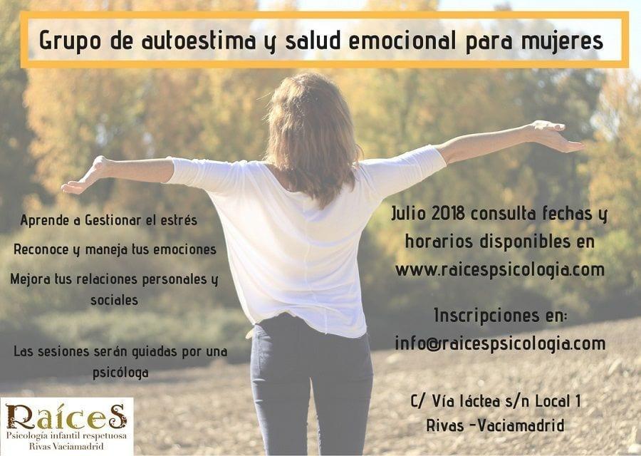 Grupo de autoestima y salud emocional para mujeres