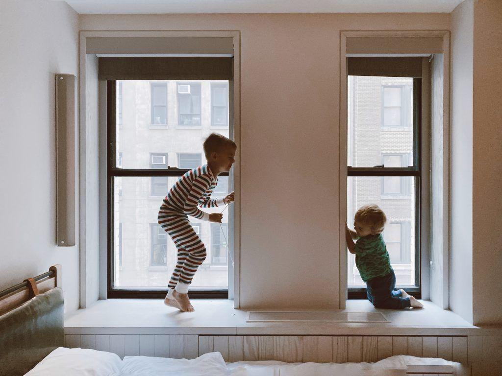 hijos en cuarentena