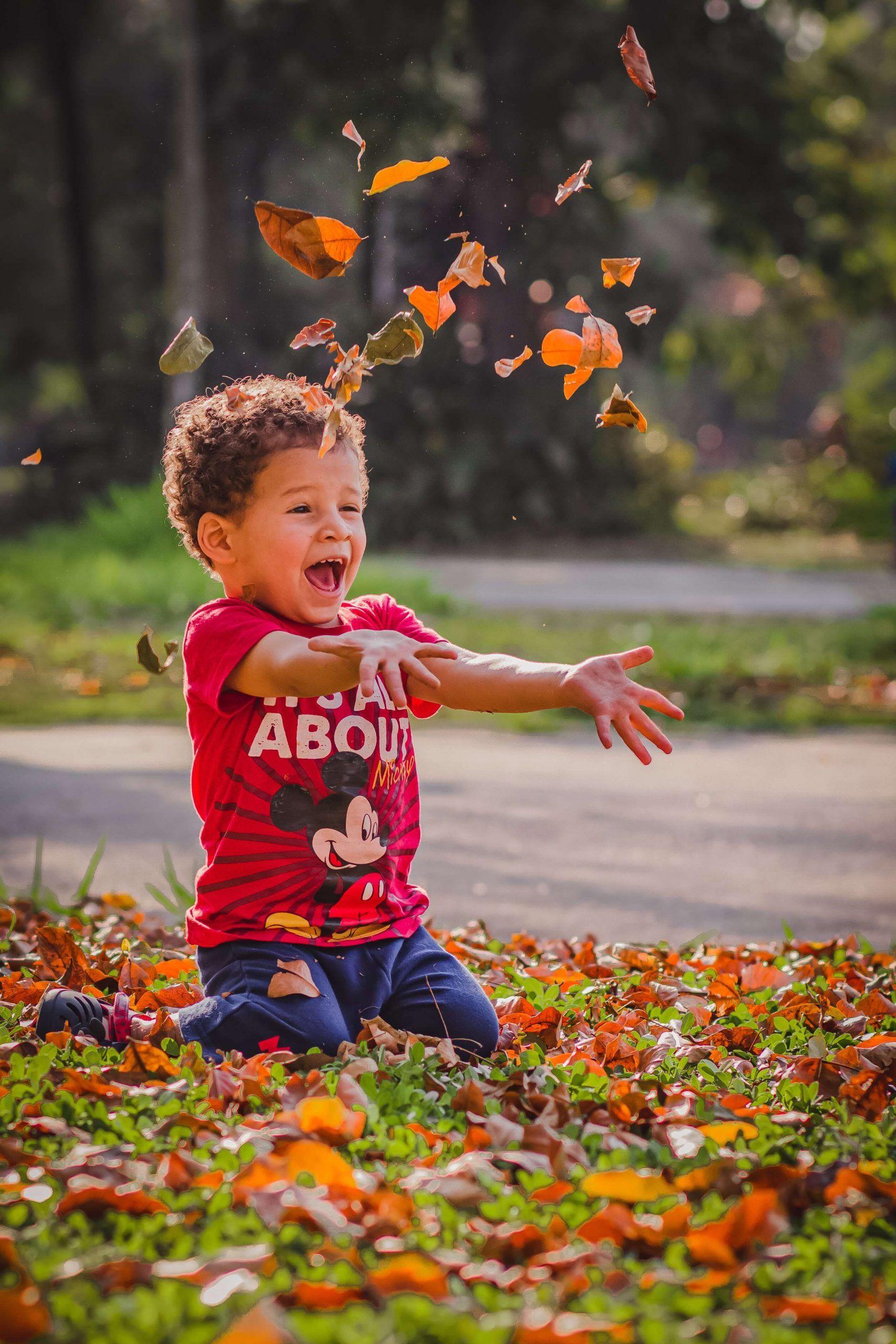 la importancia de reírse para los niños y niñas